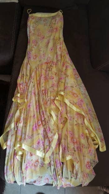 Foto Carousel Producto: Vestido casual amarillo talla 7 GoTrendier