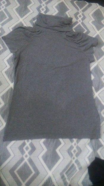 Foto Carousel Producto: Blusa manga corta cuello tortuga GoTrendier