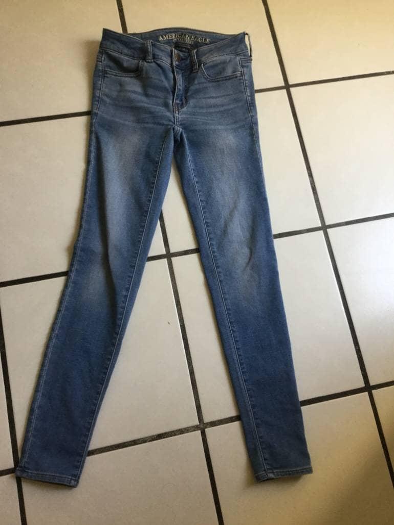 Pantalon American Eagle Talla 00 De American Eagle Outfitters De Segunda Mano Gotrendier