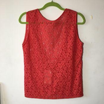 Foto Carousel Producto: Blusa Flores Roja NUEVA GoTrendier