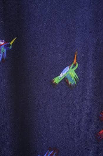 Foto Carousel Producto: Blusa azul con print GoTrendier