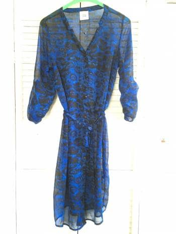 Foto Carousel Producto: Camisa azul leopard animal print GoTrendier