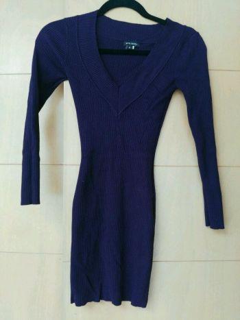 Foto Carousel Producto: Vestido  de tejido entallado GoTrendier