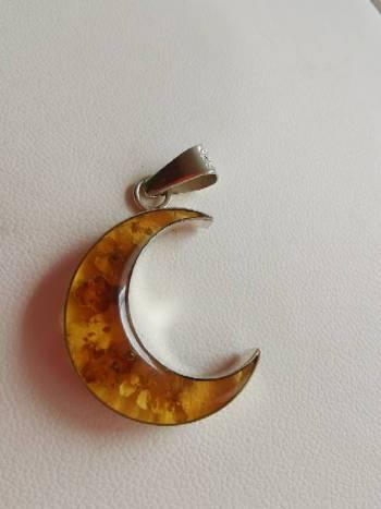 Foto Carousel Producto: Dije plata Luna GoTrendier