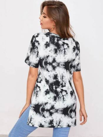 Foto Carousel Producto: Camiseta Oversize Tie Dye  GoTrendier