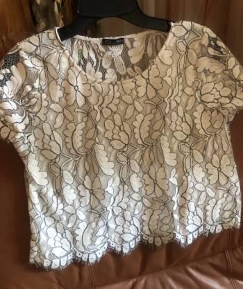 Foto Carousel Producto: Blusa blanca de zara  GoTrendier