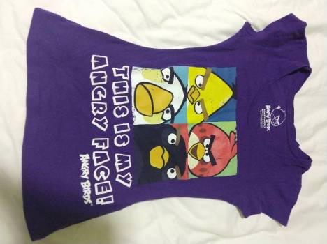 Foto Carousel Producto: Playera angry birds GoTrendier