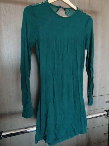 Foto Carousel Producto: Vestido verde encaje GoTrendier
