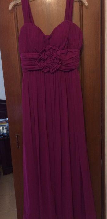 Foto Carousel Producto: Vestido largo morado GoTrendier