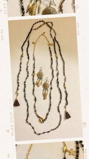 Foto Carousel Producto: Juego 2 collares enredadera y aretes GoTrendier