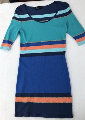 Foto Carousel Producto: Vestido multicolor de lycra GoTrendier