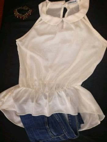 Foto Carousel Producto: Blusa semi-transparente GoTrendier