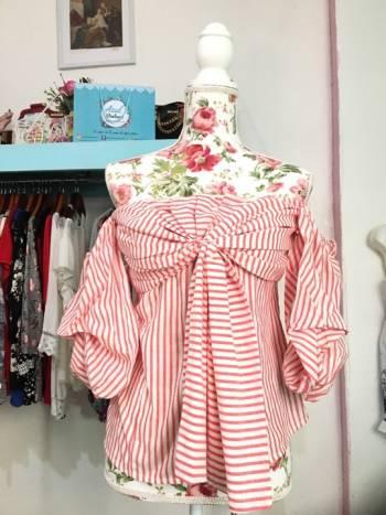 Foto Carousel Producto: Blusa Reina Diaz talla 11 GoTrendier