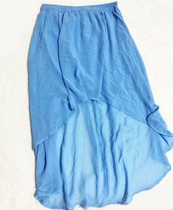 Foto Carousel Producto: Falda Desigual Azul Cielo GoTrendier