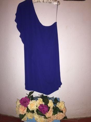 Foto Carousel Producto: Vestido azul olan una manga zara nuevo GoTrendier