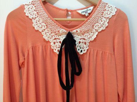 Foto Carousel Producto: Blusa vintage coral impecable GoTrendier