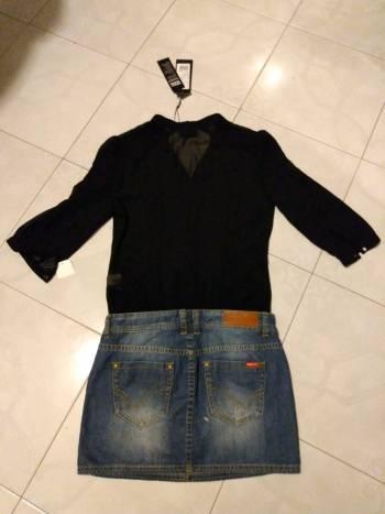 Foto Carousel Producto: Falda con blusa transparente desmontable GoTrendier