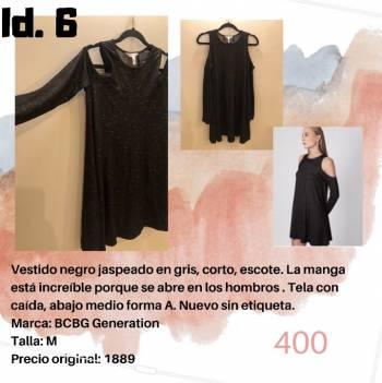 Foto Carousel Producto: Vestido sport BCBG negro GoTrendier