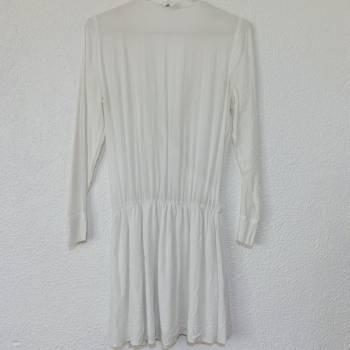 Foto Carousel Producto: Vestido blanco manga 3/4 GoTrendier