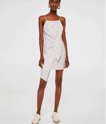 Foto Carousel Producto: Vestido asimétrico Mango GoTrendier