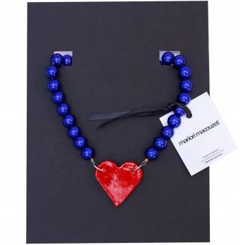 Foto Carousel Producto: Collar statement con dije de corazón GoTrendier