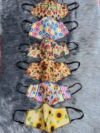 Foto Carousel Producto: Set de 6 cubrebocas GoTrendier