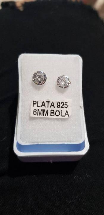Foto Carousel Producto: Aretito de plata 925 VENDIDOS GoTrendier