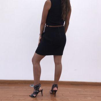 Foto Carousel Producto: Vestido negro marca mango GoTrendier