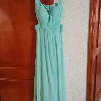 Foto Carousel Producto: Vestido de fiesta color menta GoTrendier