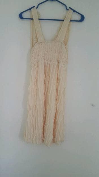 Foto Carousel Producto: Vestido de cóctel color beige talla 7 GoTrendier