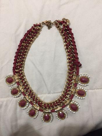 Foto Carousel Producto: Collar rojo GoTrendier