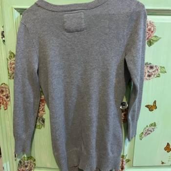 Foto Carousel Producto: Sueter Abercrombie gris talla L (kids)  GoTrendier