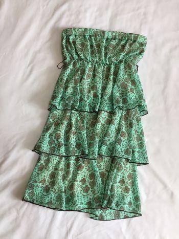 Foto Carousel Producto: Vestido verde straple GoTrendier