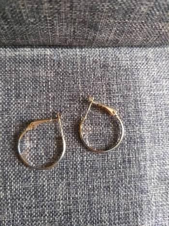 Foto Carousel Producto: Arracada chapa de oro  GoTrendier