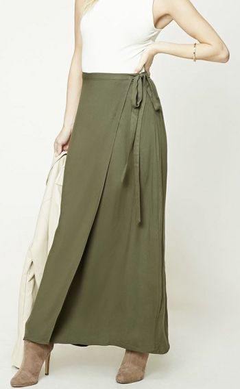 Foto Carousel Producto: Wrap maxi skirt GoTrendier