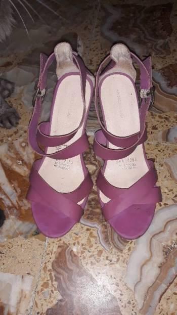 Foto Carousel Producto: Alpargatas/cuñas Andrea Color Lila GoTrendier