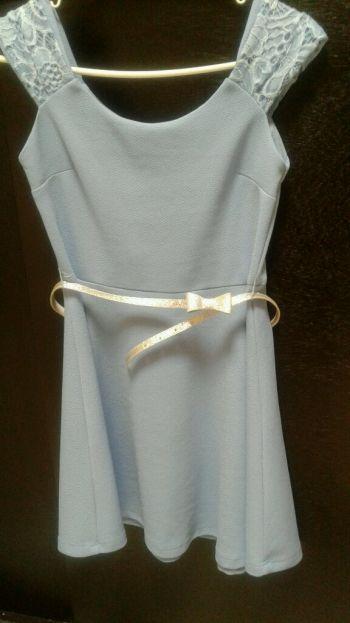 Foto Carousel Producto: Vestido azul cielo GoTrendier