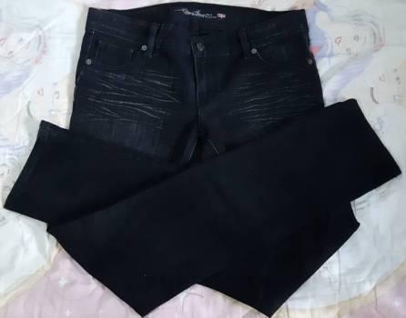 Foto Carousel Producto: Pantalon de mezclilla negro OGGI JEANS GoTrendier