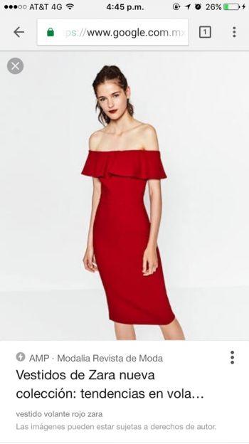 Foto Carousel Producto: Vestido rojo de hombros GoTrendier