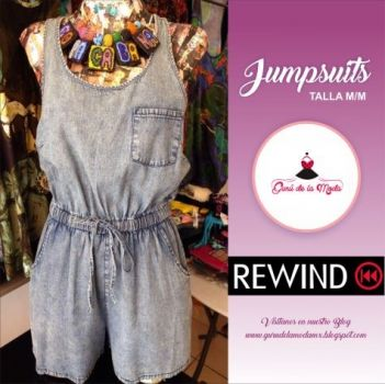 Foto Carousel Producto: Jumper mezclilla nuevo rewind GoTrendier