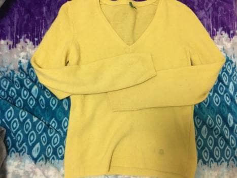 Foto Carousel Producto: Suéter amarillo GoTrendier