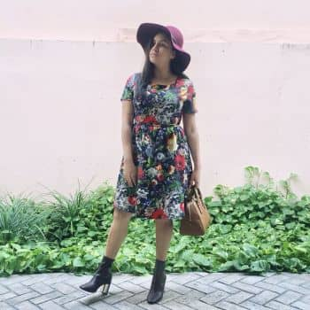 Foto Carousel Producto: Flower Autumn Dress GoTrendier