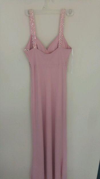 Foto Carousel Producto: Vestido palo de Rosa largo GoTrendier