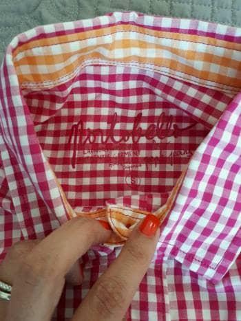Foto Carousel Producto: Camisa a cuadros rosa GoTrendier