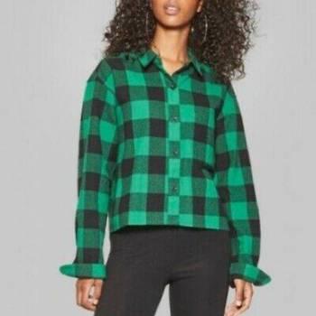Foto Carousel Producto: Hermosa camisa verde GoTrendier