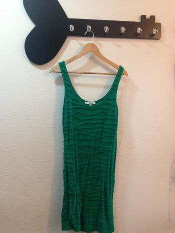 Foto Carousel Producto: Vestido Stretch Verde GoTrendier