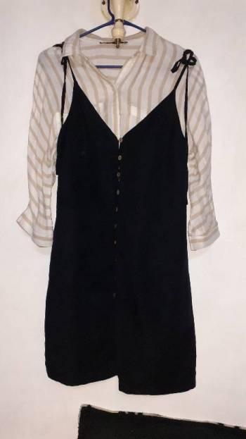 Foto Carousel Producto: Vestido estilo jumper Forever 21 GoTrendier