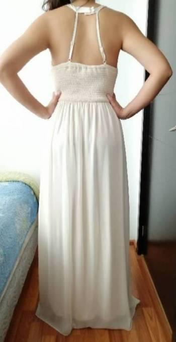 Foto Carousel Producto: Vestido Largo Ivory perla GoTrendier