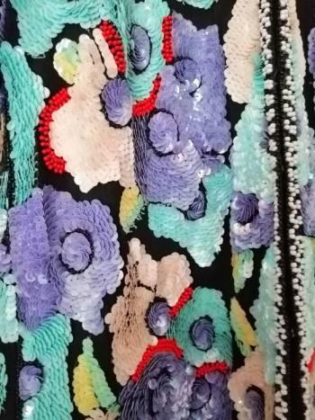 Foto Carousel Producto: Vintage Blazer Lentejuelas Flores  GoTrendier