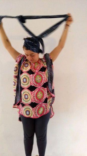 Foto Carousel Producto: Capa mandslica + turbante GoTrendier